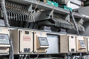 Qualitätskontrolle der Sortiermaschine