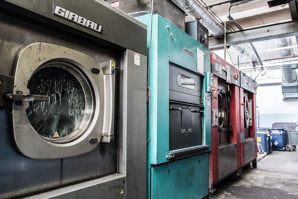 Industriewaschmaschinen bei Taco